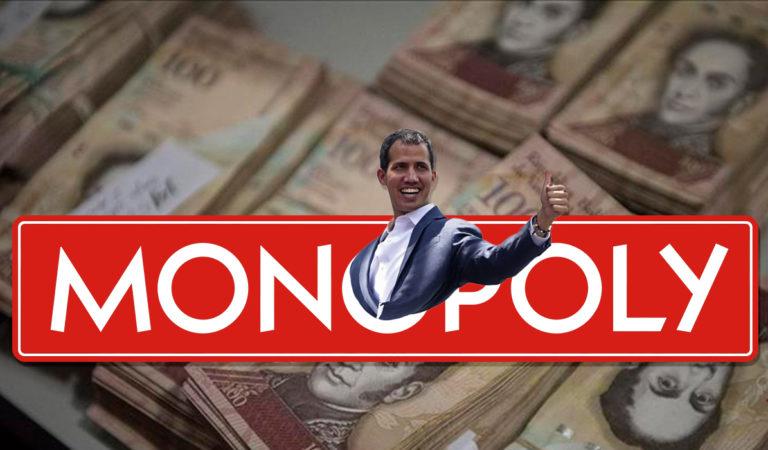Lanzarán versión de Monopolio inspirada en Guaidó.