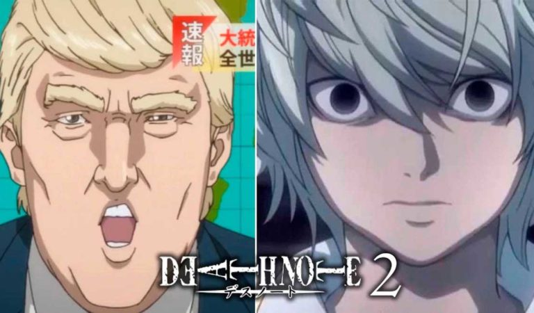 Death Note 2: Donald Trump quiere comprar la libreta.
